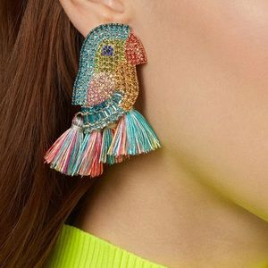 COMING SOON! Tropical Bird Earrings